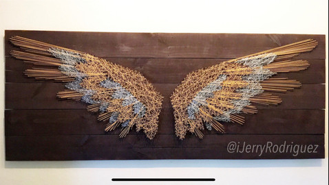 Gold and Silver Wings