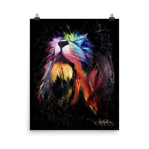 """LEO"" Photo paper poster"