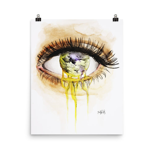 I See Photo paper poster