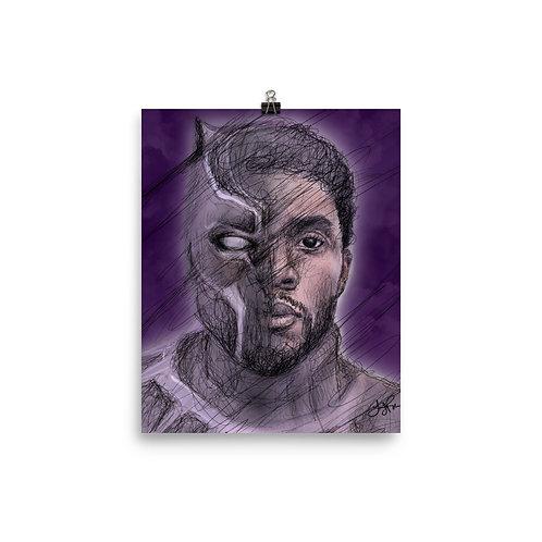 Boseman Art Poster Print