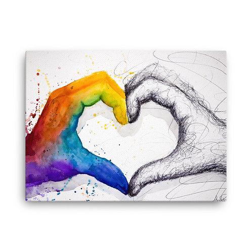 Love Different Canvas