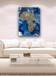 Africa Over Resin