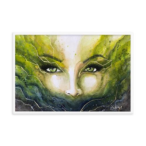 """Her Storm"" Framed photo paper poster copy"