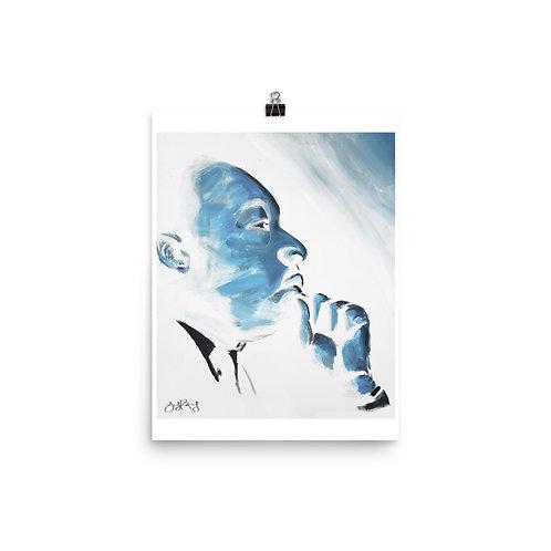 MLK Photo paper poster