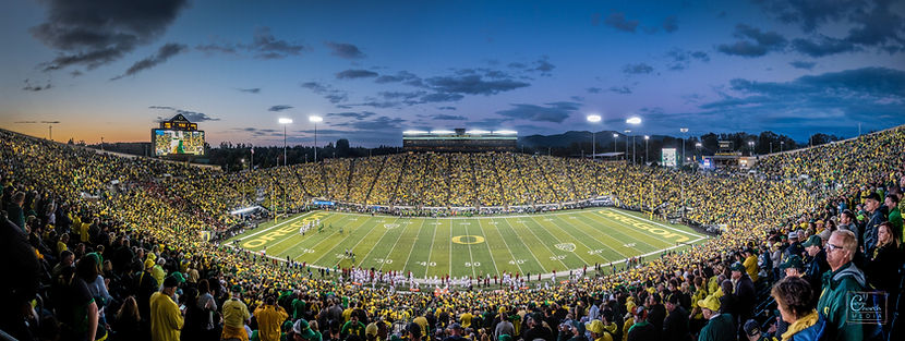 9.22.2018 - Ducks vs Stanford - Eugene,