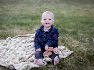 William's 1st Birthday!