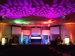 Stage lighting rental, stage lighting production, stage lighting richmond, event lighting service, audio visual equipment provder, av production company, av rentals,