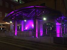Up lighting, up lighting rental, uplighting service, lighting design service, stage lighting,