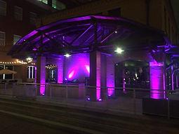 Architectural Up Lighting, Up Lighting rental, Up lighting service, up lighting design, lighting design, audio visual rental, lighting design richmond va, lighting rental, up lighting provider,