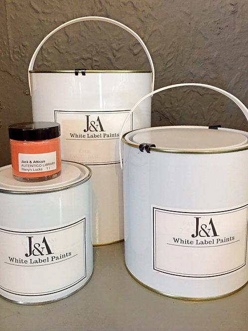J & A White Label Paint