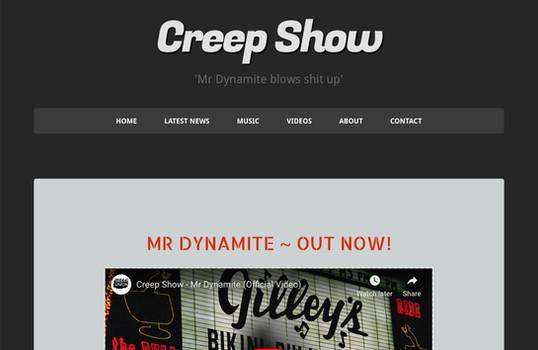 Creep Show Music