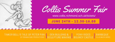 Collis Summer Fair Flyer