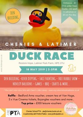 Duck race flyers