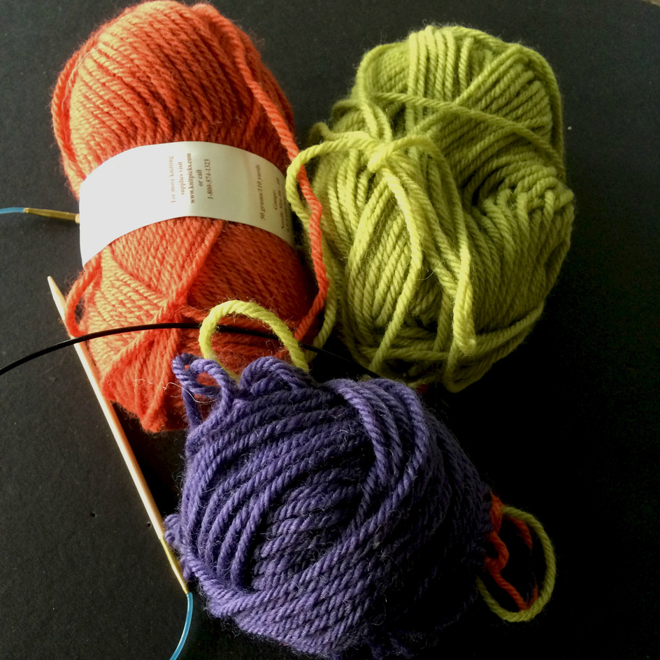 Stranded Knitting: Post 10, Weaving Yarns to Add New Colors and Finish Old Colors (Video Episode 11)