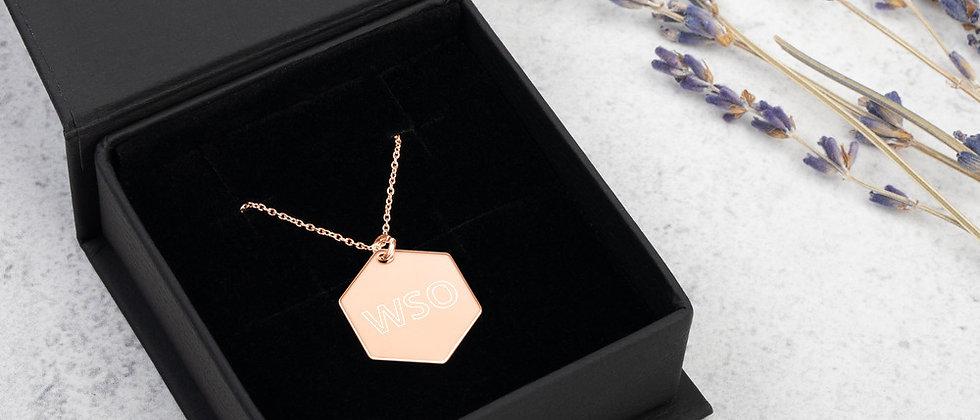 WSO Hexagon Necklace
