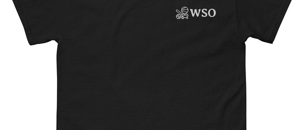 WSO White Logo Men's Tee
