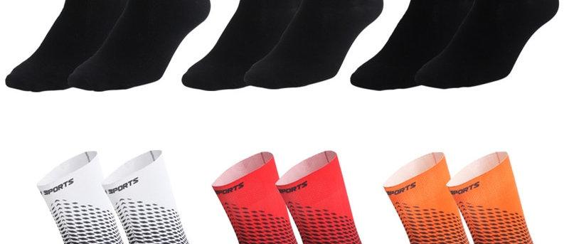 Functional Fabric Cycling Socks