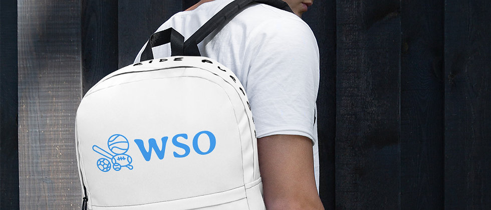 WSO Passion Pride Purpose Backpack Edition