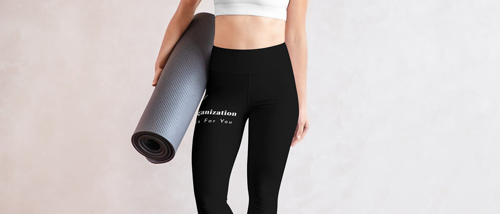 Building Pathways Black Yoga Leggings