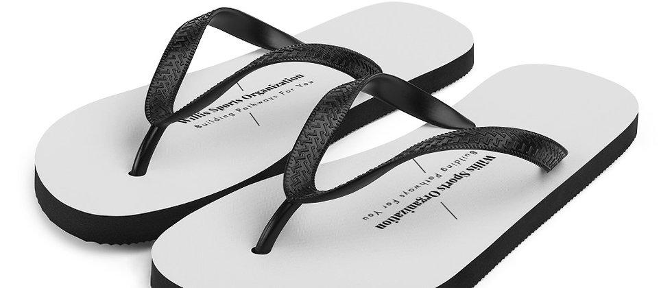 WSO Light Grey & Black Flip-Flops
