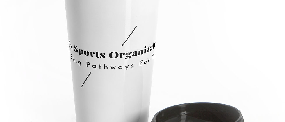 Building Pathways Stainless Steel Travel Mug
