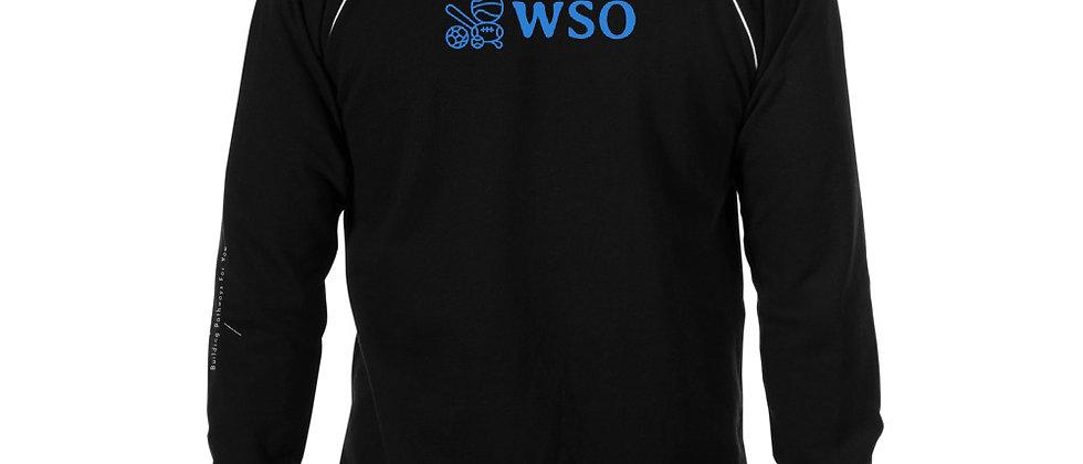 WSO Sports Piped Fleece Jacket