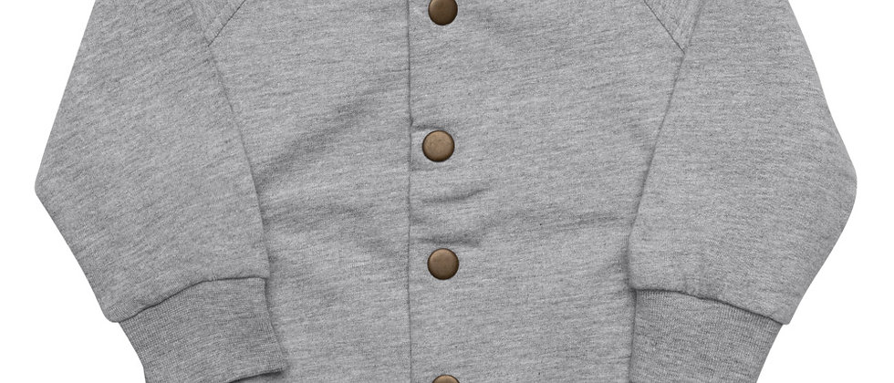 WSO Sports Blue Baby Organic Bomber Jacket
