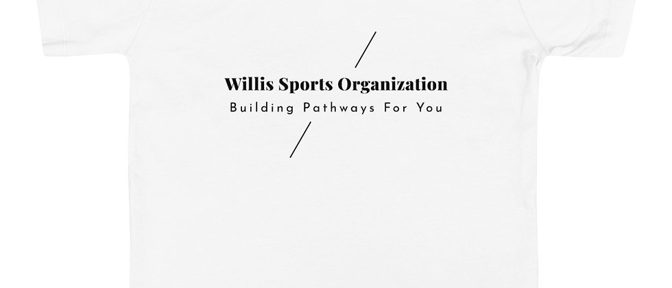 WSO Building Pathways Toddler Short Sleeve Tee
