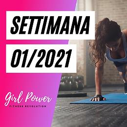 SETTIMANA 01/2021