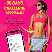 30 Days Challenge - Addominali