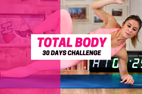 30 Days Challenge - Total Body