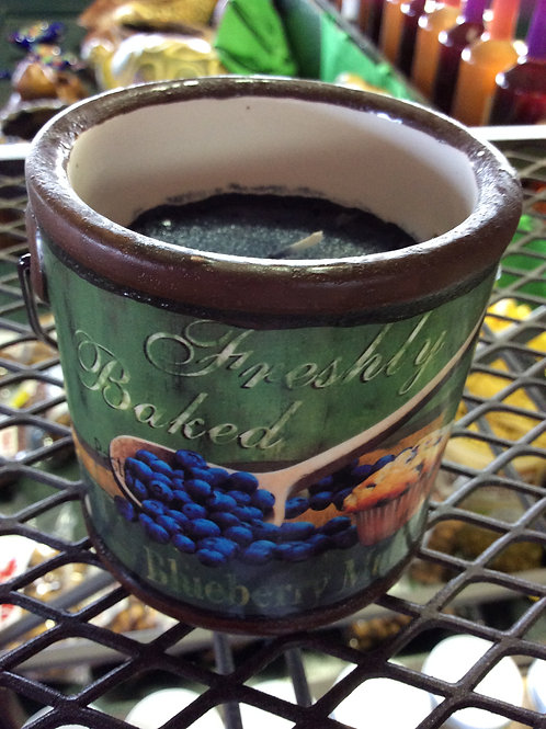 Farm Fresh Blueberry Muffin Candle