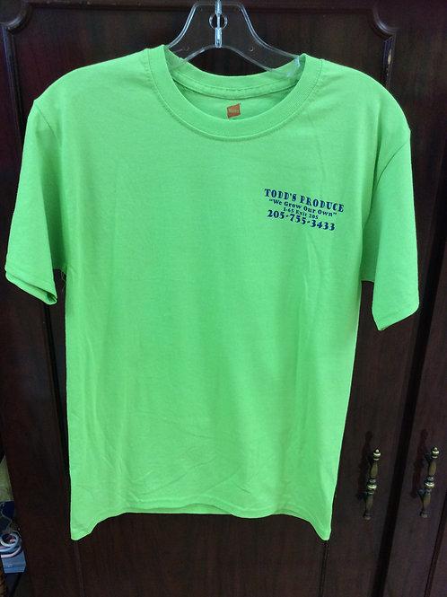 Green Todd's Produce T-shirt