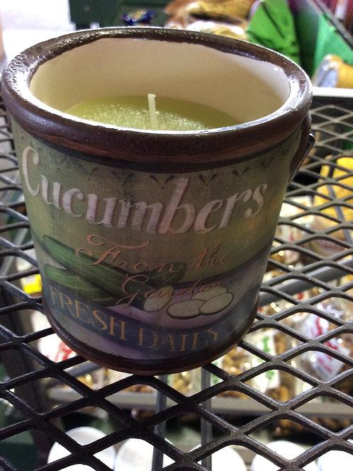 Farm Fresh Cucumber Candle