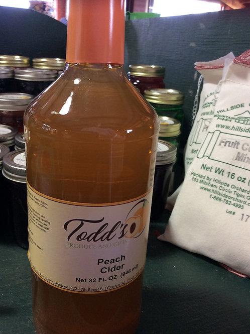 Peach Cider