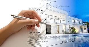 plan maison avec main shutterstock_49622