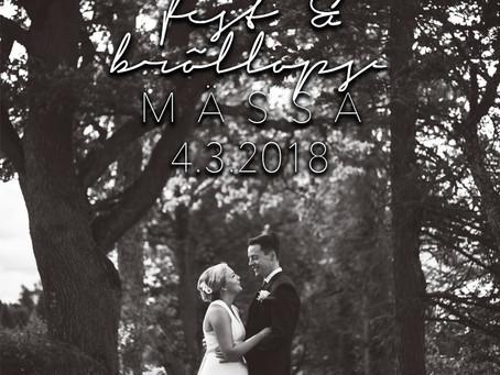 kom och träffa mig på fest- & bröllopsmässan i Ekenäs 4.3.2018
