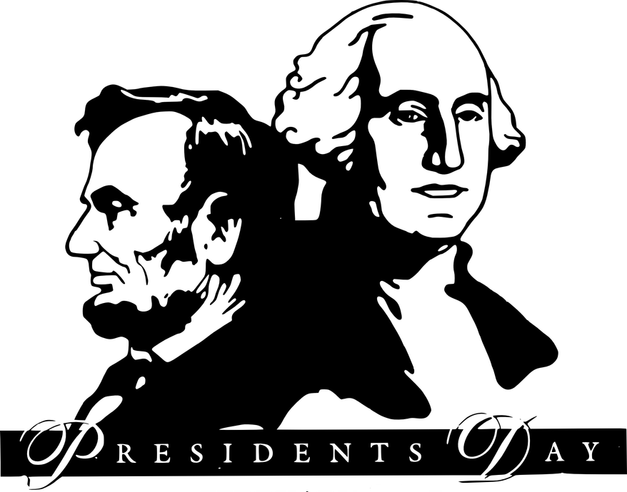 Presidents Lincoln and Washington