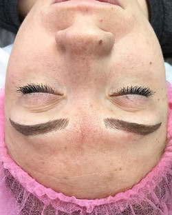 Combo Microbladed Brows Microblading Chico