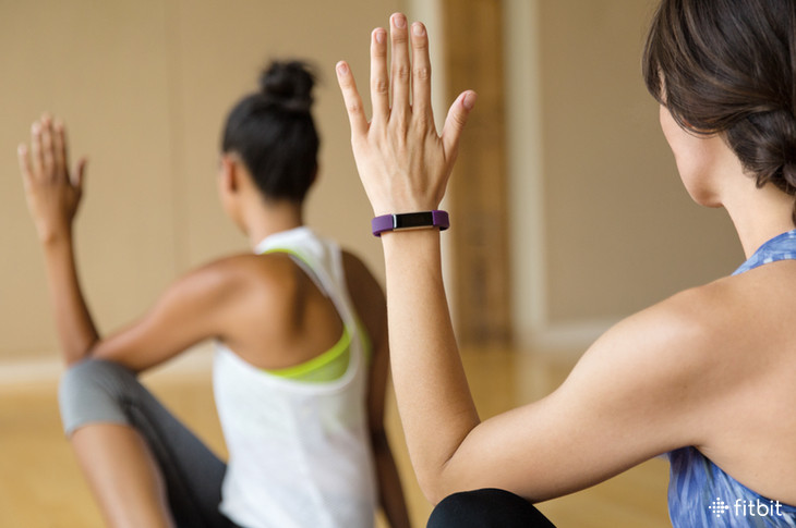 Wearable during yoga