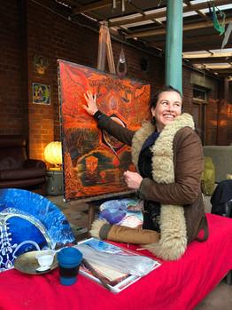 Melissa Shemanna live painting.JPG