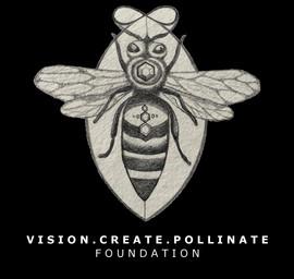 Vision.Create.Pollinate.Foumndation Logo
