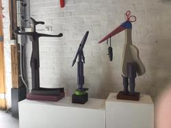 3 sculptures Flourish