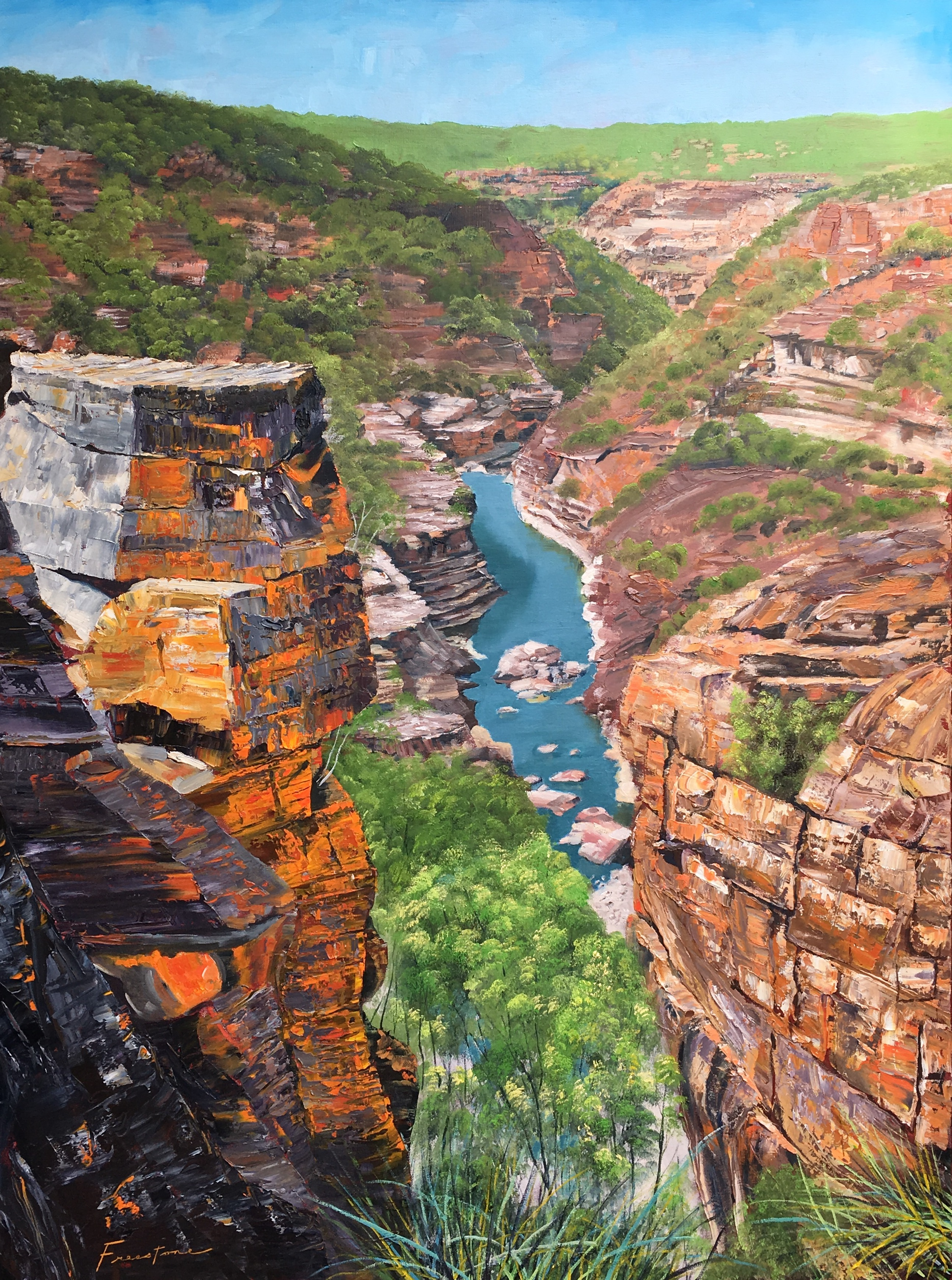 The Eye of the Citadel Kalbarri