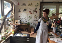 Clare James in Studio 2