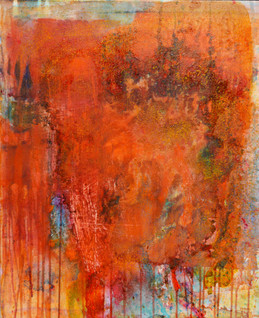 Jenny Davis_Wallmatter 14_Acrylic paint,