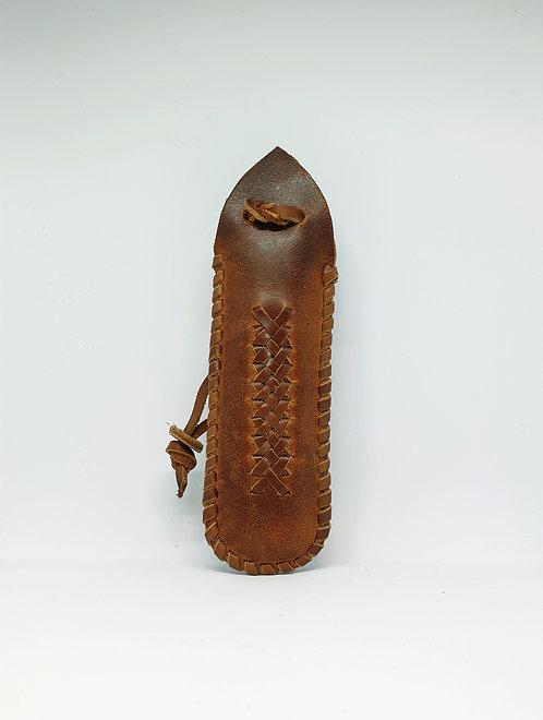 Bőr bicskatartó / Leather Knife Case