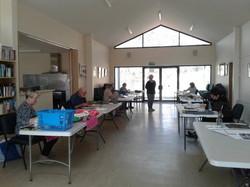 steels creek community centre art group.