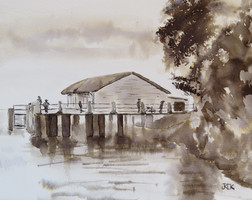 Sugar Wharf, Port Douglas_Ink.JPG