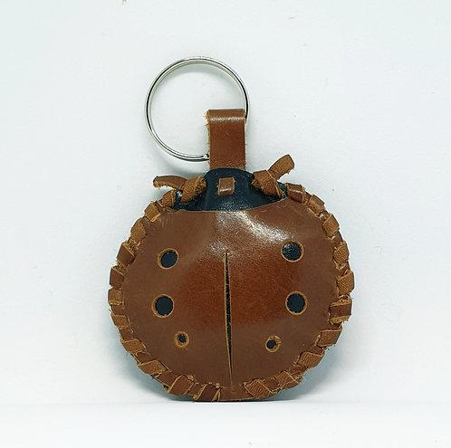 Katica kulcstartó / Ladybug Keyring